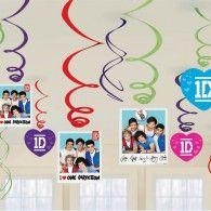 Hanging Swirls (12pk) $12.95 A670291