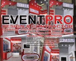 KONTRAKTOR BOOTH PAMERAN JAKARTA   081212103386 - 081290452586  http://eventpro-exhibition.blogspot.co.id/