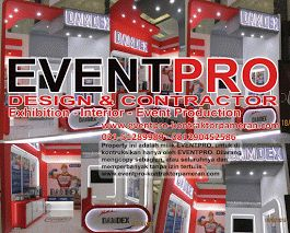 KONTRAKTOR BOOTH PAMERAN JAKARTA | 081212103386 - 081290452586  http://eventpro-exhibition.blogspot.co.id/