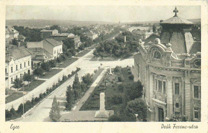 Új perspektívában a Deák Ferenc utca - 1917 körül