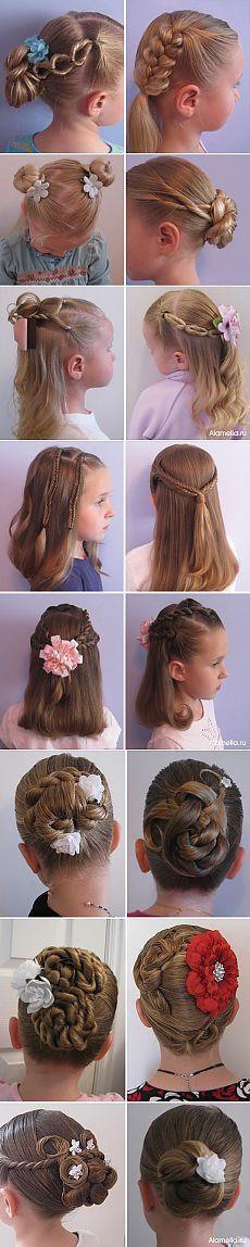 Детские прически для девочек | Alamella.ru
