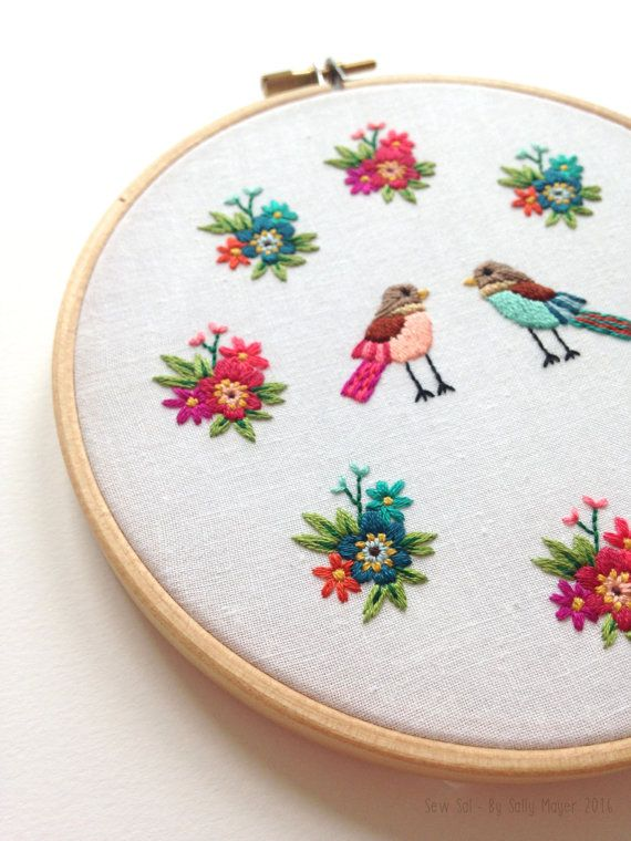 SewSalShop Embroidered pieces and products