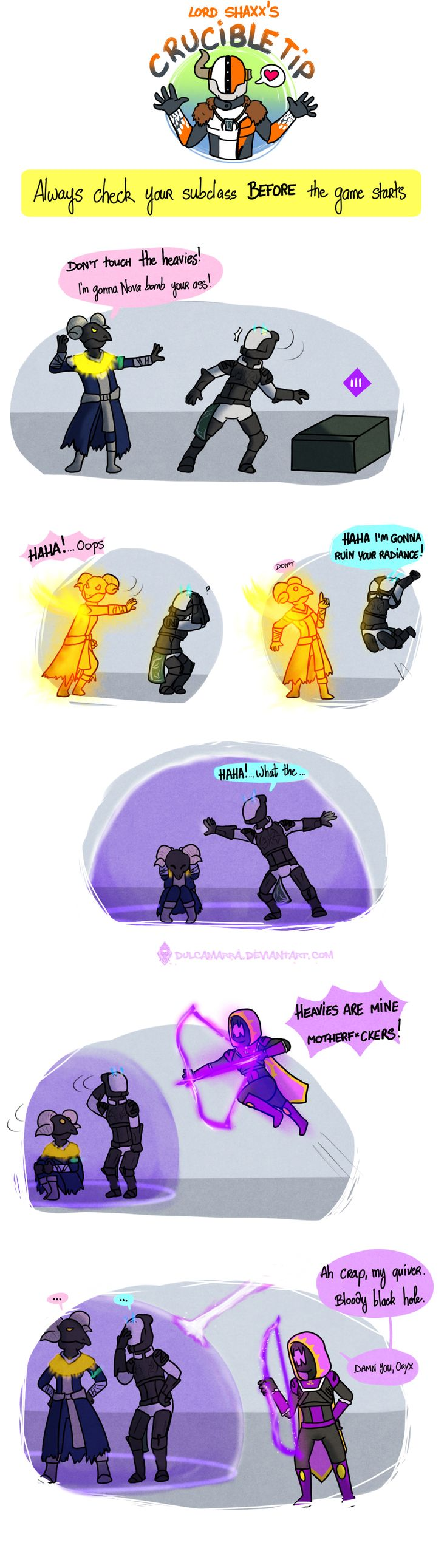 I'm the worst voidwalker you'll ever see. Destiny©Bungie