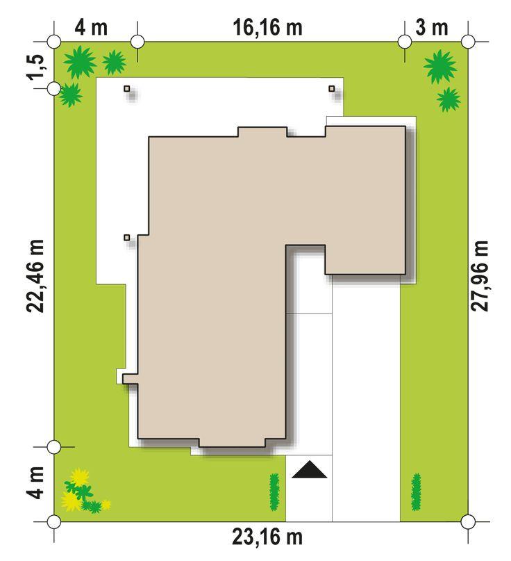 Z279 to wyjątkowy dom z kategorii projekty domów z czterema pokojami