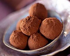 Truffes au chocolat minceur (facile, rapide) - Une recette CuisineAZ