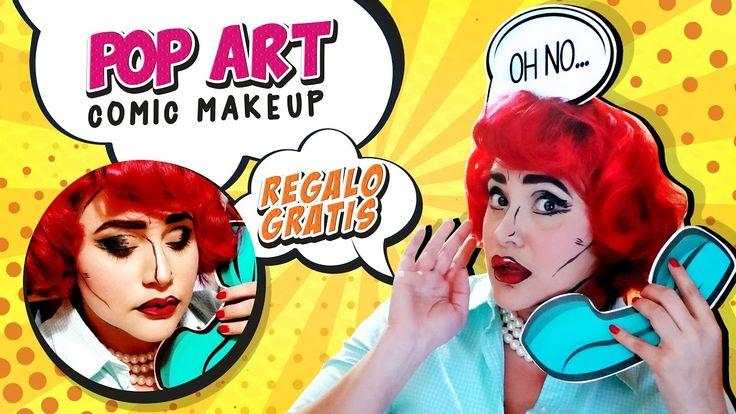 Maquillaje Pop Art ' Comic'| Elementos comics PARA DESCARGAR GRATIS | De...