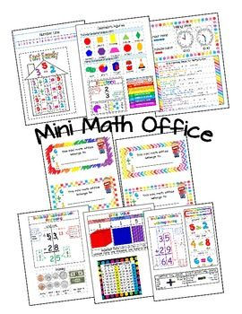 This is a great way to reinforce math for your students. They can use it as a resource while they complete their math work. Just cut out the sections and glue them to one or two file folders.Includes:1.) Name Plate2.) Double Digit Addition w/ Regrouping3.) Double Digit Subtraction w/ Regrouping4.) Comparing Numbers5.)Addition and Subtraction Keywords6.) Hundreds Chart7.) Coins8.) Place Value with written and standard form9.) Telling Time (clock)10.) All About Time (mins…