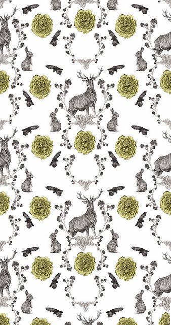 Flora & Fauna by Love Raccoons, via Flickr