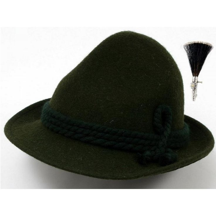 Tyrolean Hat Pins: Tyrolean Hat, Bavarian Or Alpine Images
