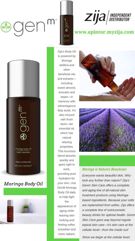Shop   Zija GENM Moringa Body Oil ~ Fresh Lavender Scent - Independent Distributor www.apintor.myzija.com