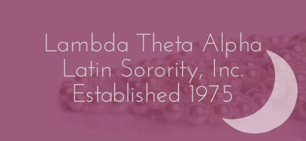 Check out my new PixTeller design! :: Lambda theta alpha latin sorority, inc.established 1975