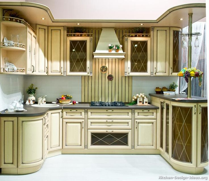 Kitchen Idea Of The Day Antique White Kitchen Cabinets