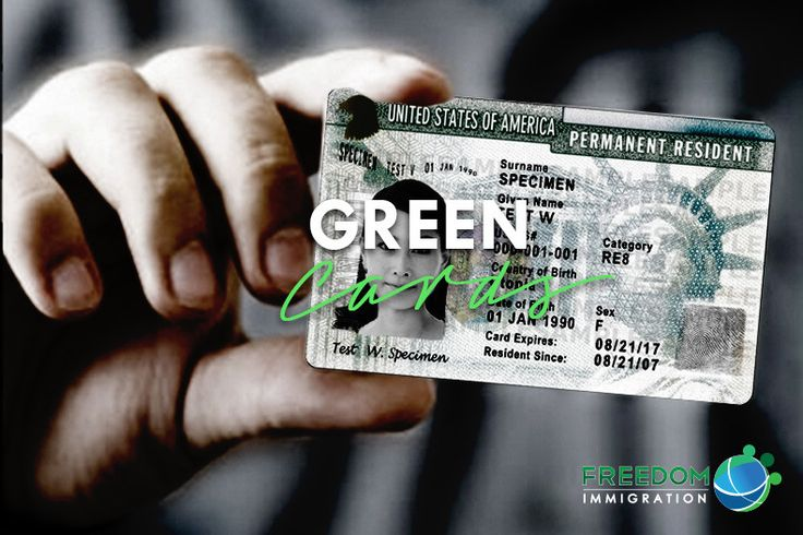 how to pay for green card