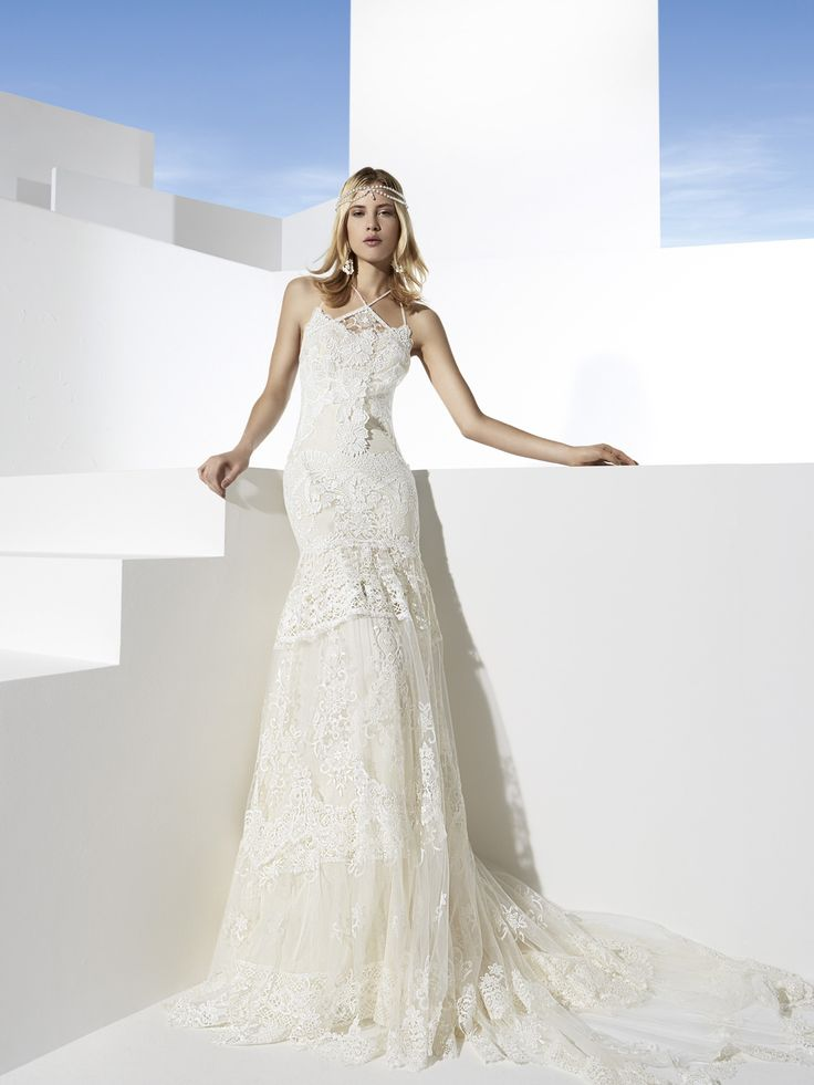 Las vegas bridal gown by yolancris boho girl 2014 lace for Wedding dresses for rent las vegas