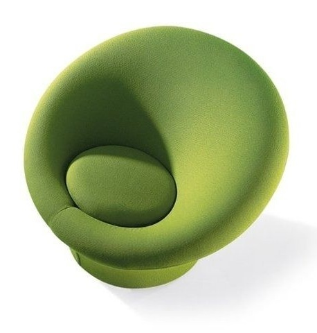Design armchair by Pierre Paulin MUSHROOM