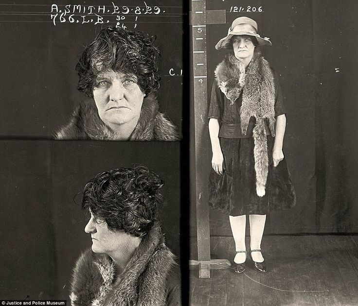 Drug dealers, backstreet abortionists and a deadly femme fatale: Fascinating mugshots of women prisoners from 1920s Australia (34-year-old Alma Smith was jailed for five years for performing an illegal abortion on a young woman who later died... SHE WAS 34?! Dang, a life of crime does NOT age you gracefully!)
