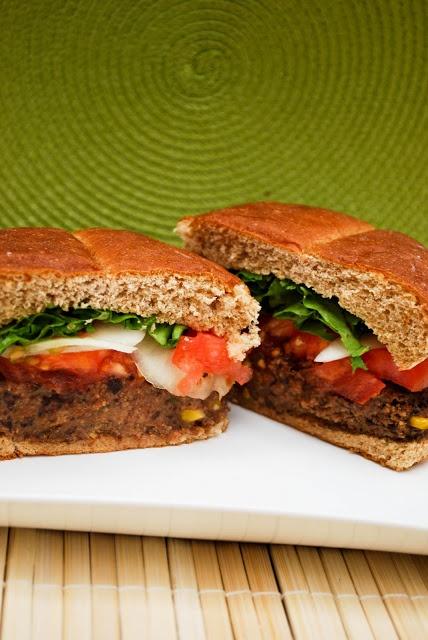 Black bean and corn burgers | Yummies | Pinterest