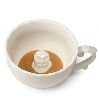 Hidden Owl Mug - for owl lovers $21