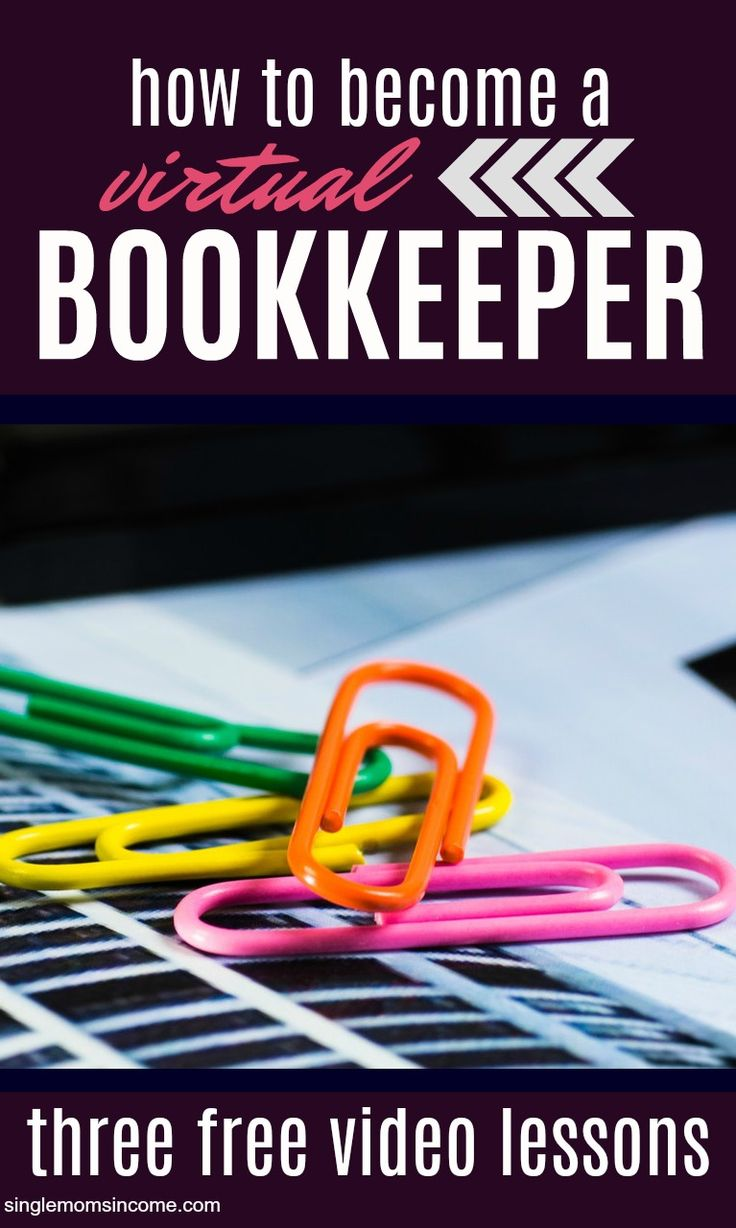 If you've thought of becoming a bookkeeper here's a useful course that will teach you how to start an online bookkeeping business. Taught by a CPA. #workfromhome #WAH #Bookkeeping #onlinejob