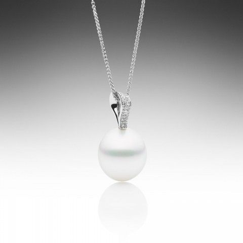 Ribbon Pendant - Paspaley Pearls - The Most Beautiful Pearls in the World