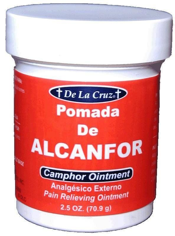 Pomada de Alcanfor