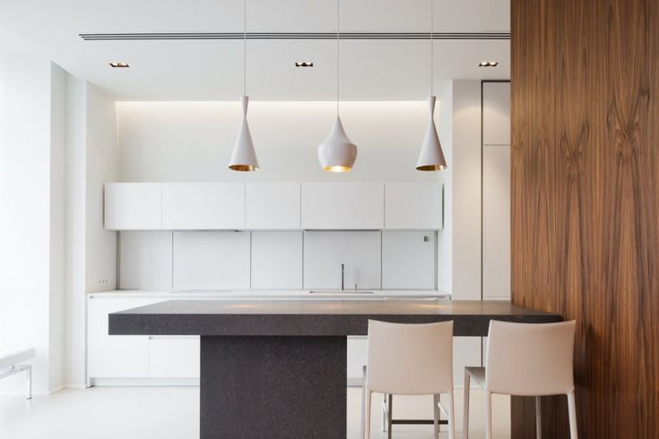 Tom Dixon Beat Lights in White: Arbat Apartment