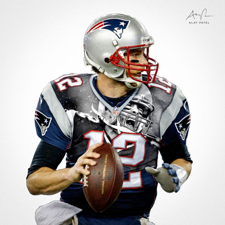 41 best nfl digital art images on pinterest nfl football digital tom brady qb new england patriots design by alay patel march voltagebd Gallery