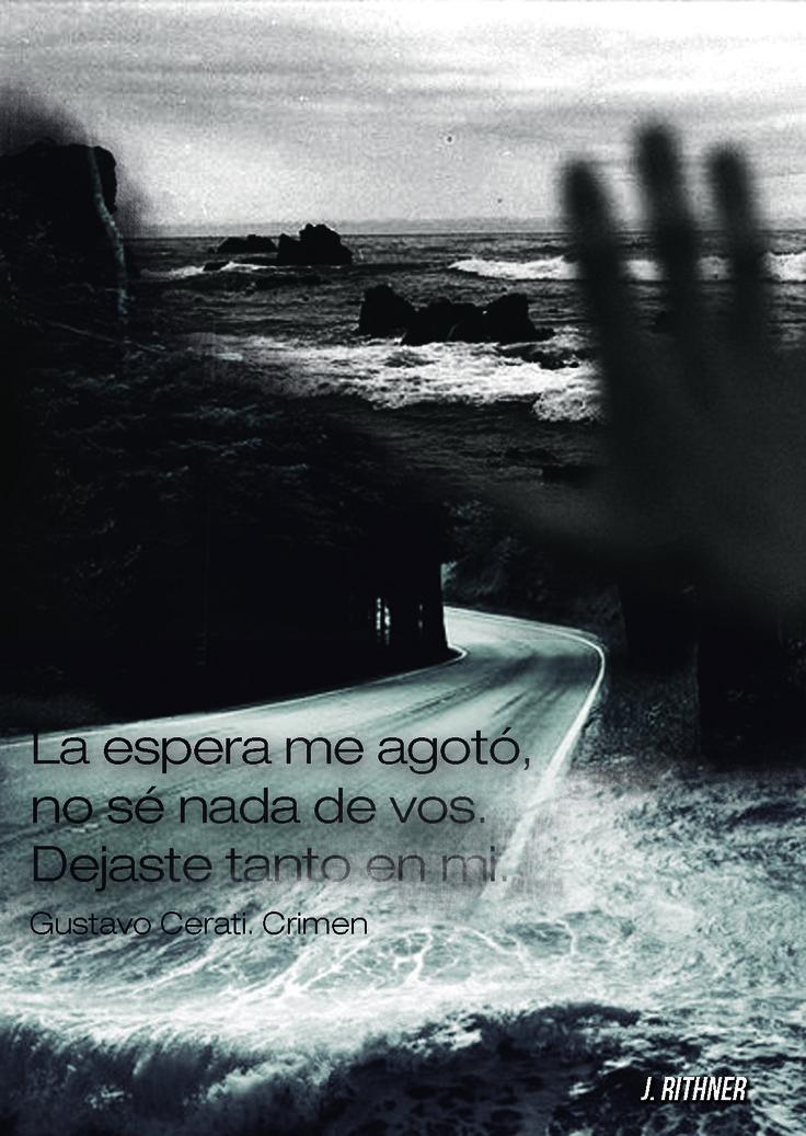 Gustavo Cerati. Crimen
