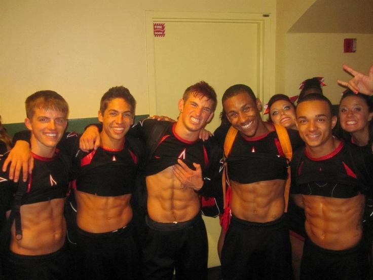 and they say cheerleading isn't a sport... :)    mmmmm... cheer boys <3