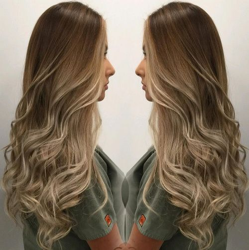 180 best images about ombre hair color melt on pinterest for Blond braun ombre