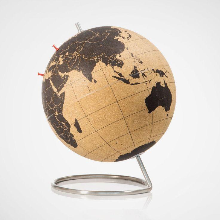 die besten 20 kork globus ideen auf pinterest weltkarte kork korken karte und weltkarte mit pins. Black Bedroom Furniture Sets. Home Design Ideas
