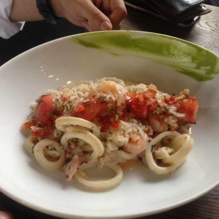 arroz con frutos del mar