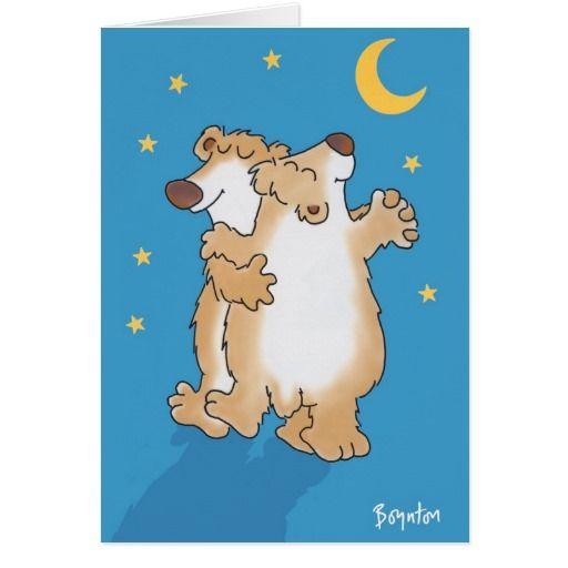 Anniversary Bears. Día de los enamorados, amor. Valentine's Day, love. #ValentinesDay #SanValentin #love #postal #greeting #card