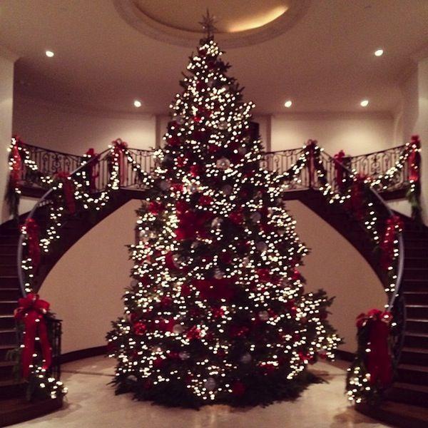 Kris Jenner - Christmas Tree at the Kardashian House