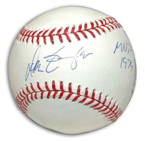 "Autographed Don Baylor Baseball Inscribed """"MVP 1979"""""