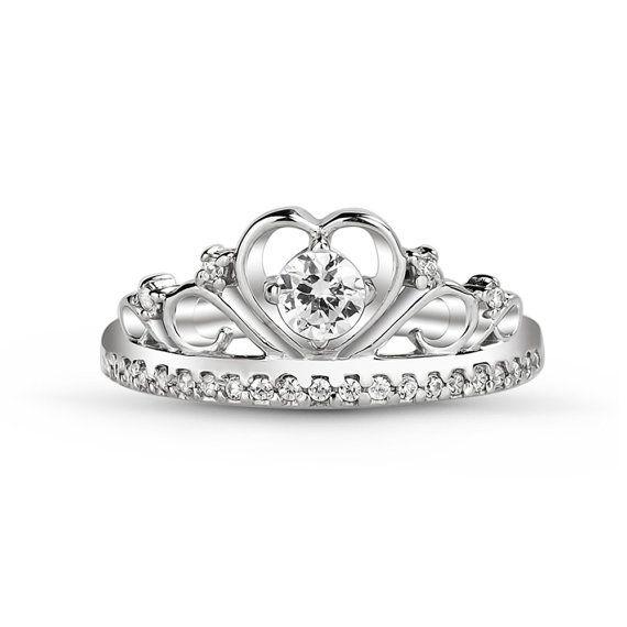 Tiara de anillo princesa anillo Princesa Tiara anillo princesa