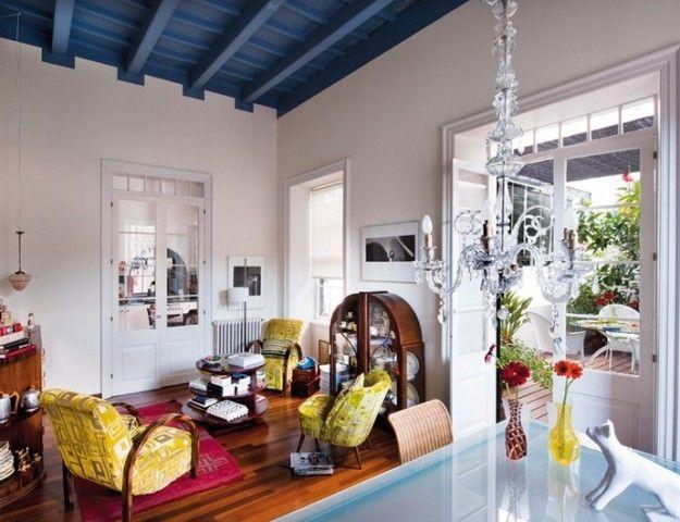 Soffitto blu - Per arredare la casa in stile mediterraneo, scegliete ...