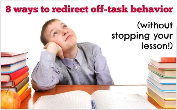 You know you got your classroom management game on point when you can redirect off task behavior with success. So here are 8 intervention strategies to help your student refocus without stopping your lesson.