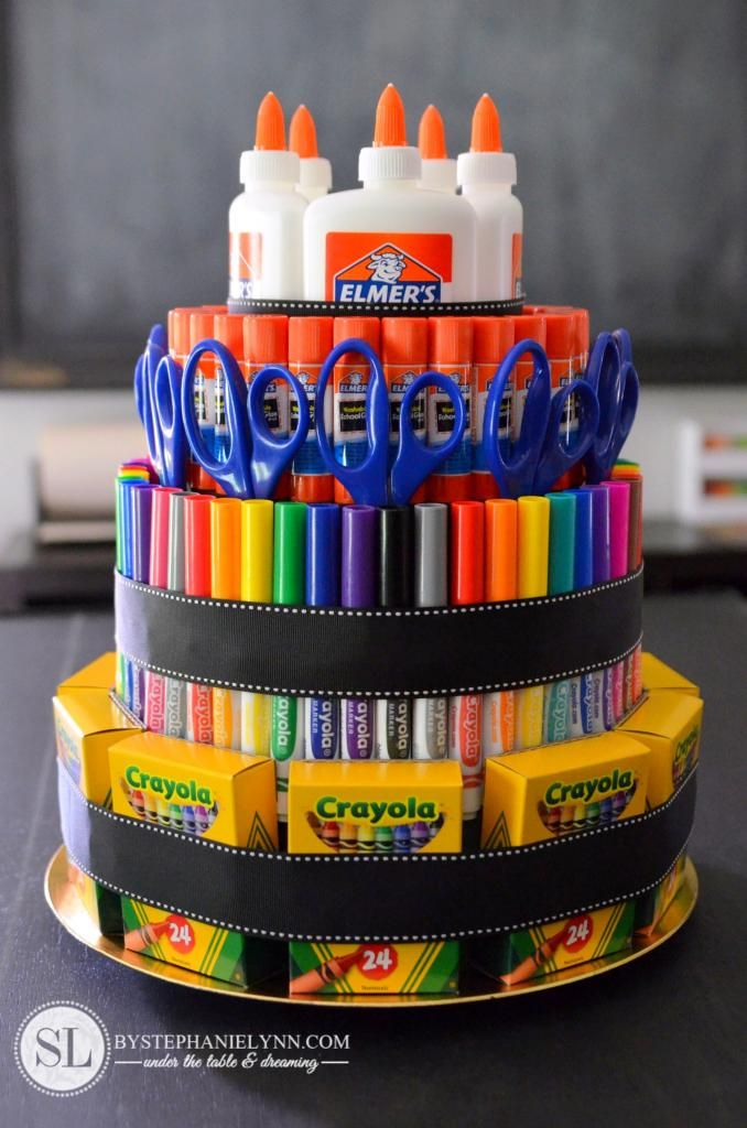 Cake Art Supplies : Best 25+ School supplies cake ideas on Pinterest