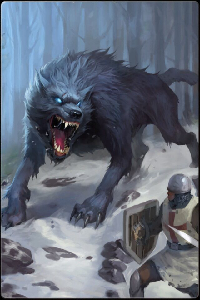And in the snows of winter, the dire wolf shall come and rule the hearts of men
