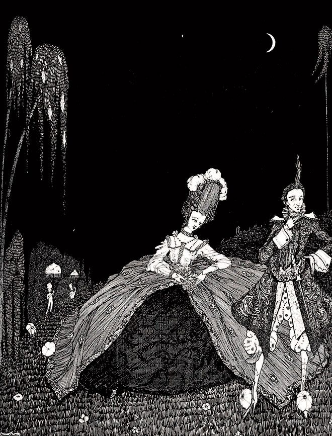The Fairy Tales of Charles Perrault, Harry Clarke, 1922.