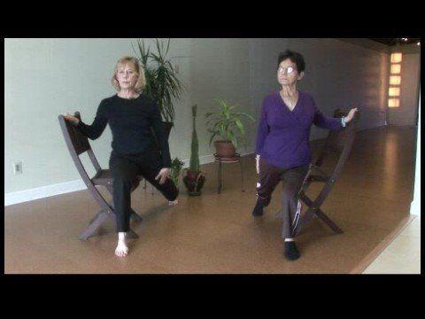 Chair Yoga for Seniors : Chair Yoga for Seniors: Tiger Stretch