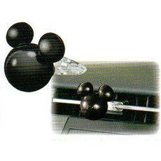 【Disneyミッキー】●マスコットACコロン(ホワイトムスク)★カー用品★