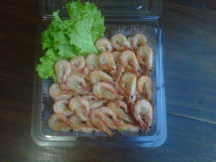 Udang goreng mentega (Butter fried shrimp)