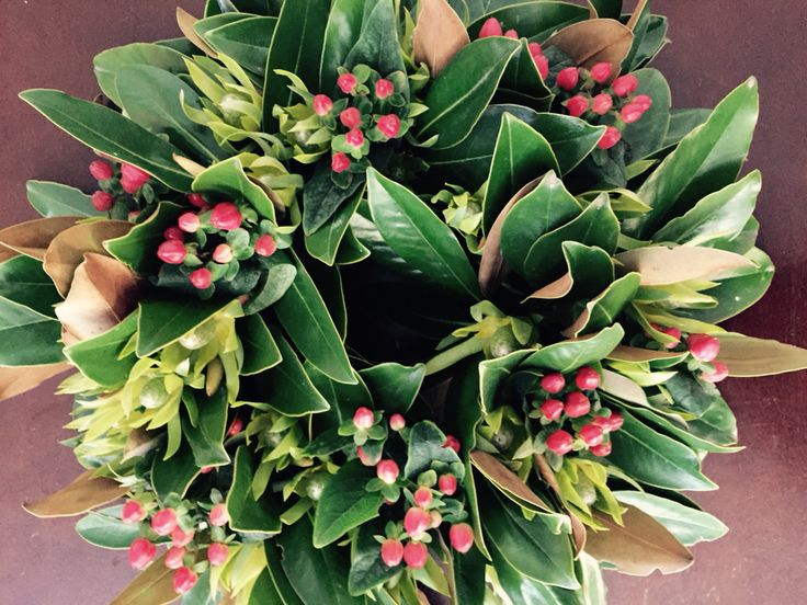 Christmas wreath Magnolia