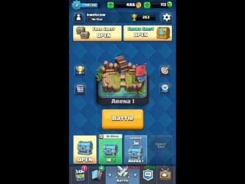 Buka chest and battle - Clash Royale part 4