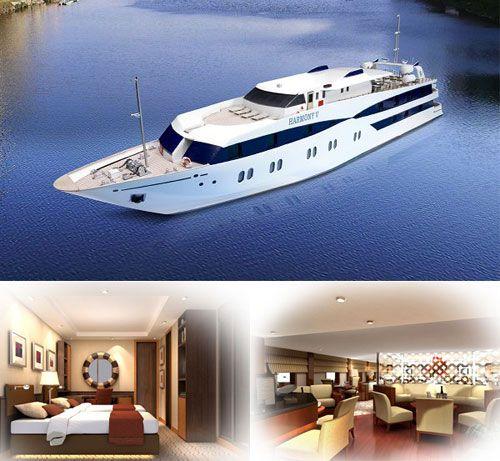 Crewed yacht Harmony V