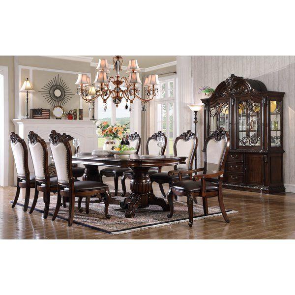 Merrionette 7 Piece Solid Wood Dining Set Dining Room Sets