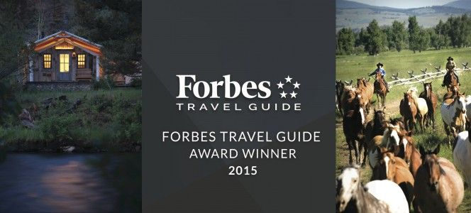 The Ranch at Rock Creek in Philipsburg, Montana is the world's only Forbes Travel Guide Five-Star ranch resort.