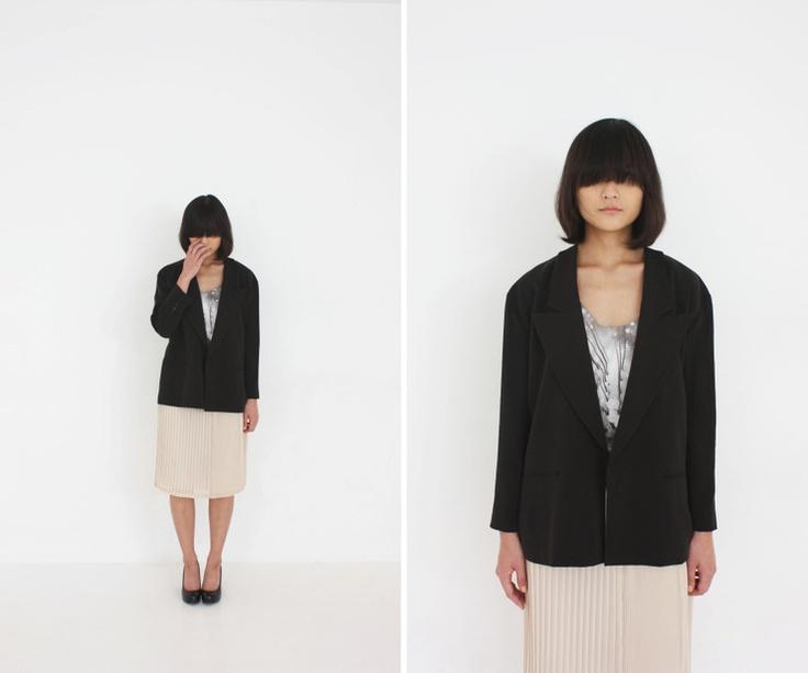 al,thing - Basic black jacket